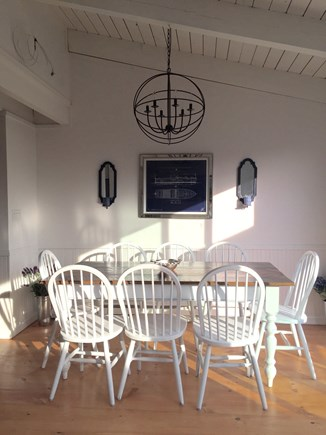 Madaket Nantucket vacation rental - Dining area with seating for 8