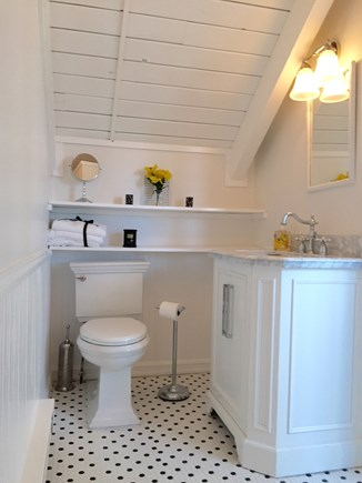 Madaket Nantucket vacation rental - Master bath with shower