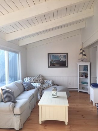 Madaket Nantucket vacation rental - Family room with Queen pull-out sofa
