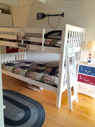 Madaket Nantucket vacation rental - Nautical-themed guest room