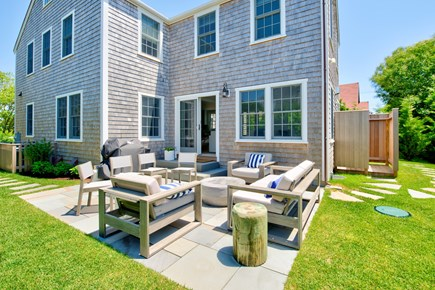 Nantucket town, Nantucket Nantucket vacation rental - Bluestone patio area