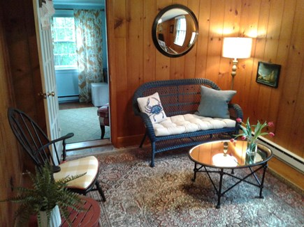 Siasconset Nantucket vacation rental - Den just outside Guest Bedroom could be a nursery.