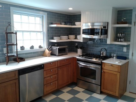 Siasconset Nantucket vacation rental - Includes dishes, glasses, cookware, bakeware and a lobster pot.