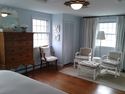 Siasconset Nantucket vacation rental - Relax, unwind, read. And yes, the chairs are outdoor fabric.