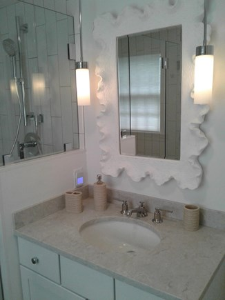 Siasconset Nantucket vacation rental - Complete remodel of Master Bath.  Large, tiled shower.
