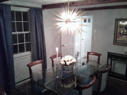 Siasconset Nantucket vacation rental - Ambiance!  Don't worry, seats have kid-friendly outdoor fabric.