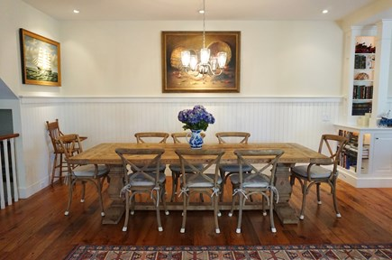 Nantucket town, Nantucket Nantucket vacation rental - Dining table which expands to seat 14+