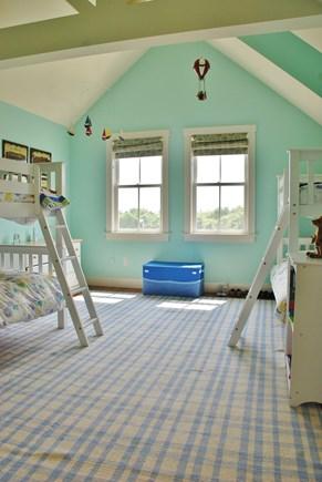 Nantucket town, Nantucket Nantucket vacation rental - Bunk room (4 twins)