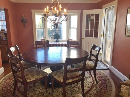 Brant Point Nantucket vacation rental - Dining Room Seats 8.