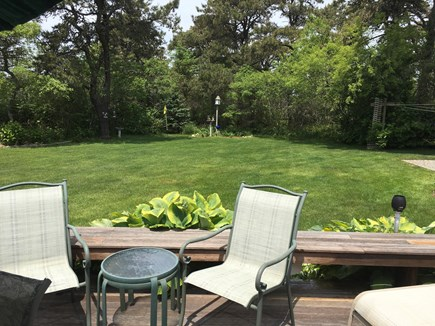 Surfside Nantucket vacation rental - Large quiet back yard