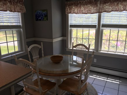 Surfside Nantucket vacation rental - Breakfast table in kitchen
