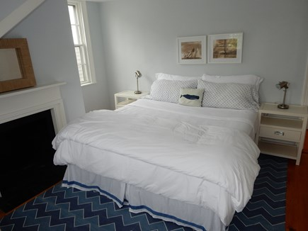 Nantucket town, Nantucket Nantucket vacation rental - Upstairs bedroom with king bed