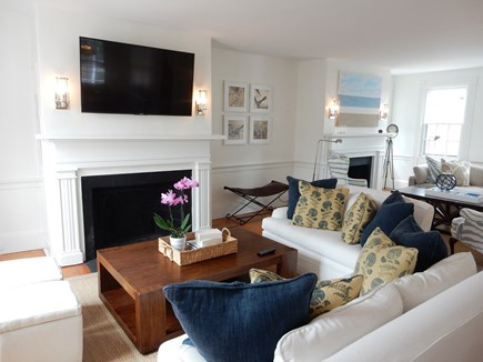 Nantucket town, Nantucket Nantucket vacation rental - First floor open living area