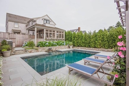 Nantucket town, Nantucket Nantucket vacation rental - Pool with patio surround
