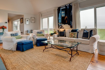 Nantucket town Nantucket vacation rental - Open family room