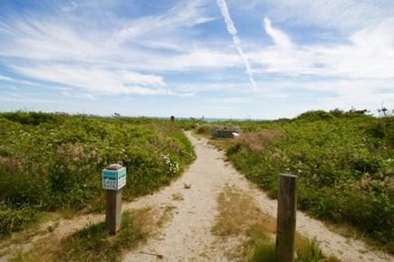 Surfside Nantucket vacation rental - Path to beach, three  minute walk to magnificent ocean beach