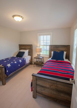 Nantucket town, Nantucket Nantucket vacation rental - 2nd floor guest room with two twins.