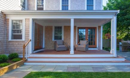 Nantucket town, Nantucket Nantucket vacation rental - Rear porch.