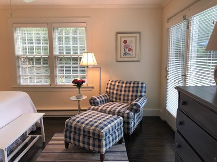 Mid-island Nantucket vacation rental - Master opens onto patio