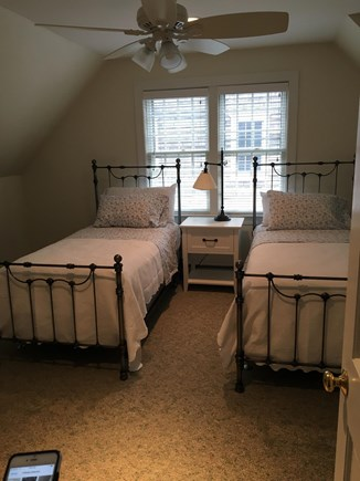 Mid-island Nantucket vacation rental - Second floor Twin Bedroom