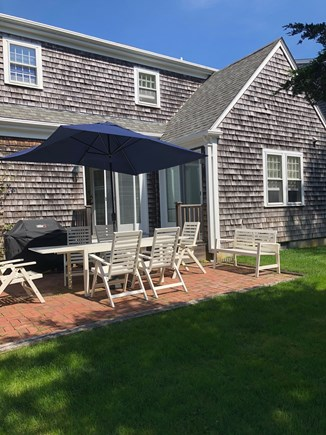 Mid-island Nantucket vacation rental - Patio