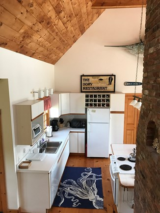 Madaket Nantucket vacation rental - The kitchen is well-stocked with all you need.