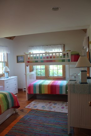 Madaket Nantucket vacation rental - Bedroom has a bunk bed, twin and trundle bed underneath. Sleeps 4