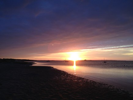Madaket Nantucket vacation rental - There's nothing better than a Madaket sunset.