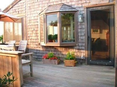 Cisco - Miacomet Nantucket vacation rental - Deck