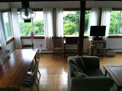 Cisco - Miacomet Nantucket vacation rental - Open dining/living area
