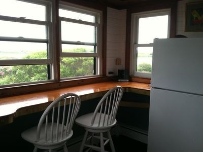 Cisco - Miacomet Nantucket vacation rental - Kitchen counter with views