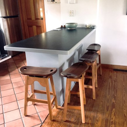 Madaket, Nantucket Nantucket vacation rental - Counter/Stools in Kitchen area
