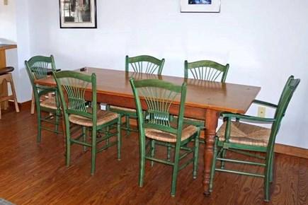 Madaket, Nantucket Nantucket vacation rental - Dining table in great room