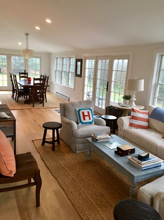 Cisco - Miacomet Nantucket vacation rental - Living & Dining Room