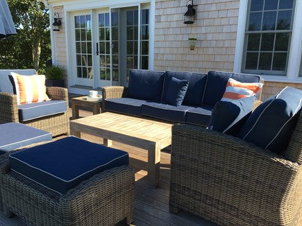 Cisco - Miacomet Nantucket vacation rental - Relax after the Beach on this cozy couch