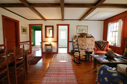 Siasconset Center Nantucket vacation rental - Living -Dining Room