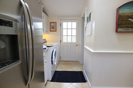 Siasconset Center Nantucket vacation rental - Laundry and rear door to deck