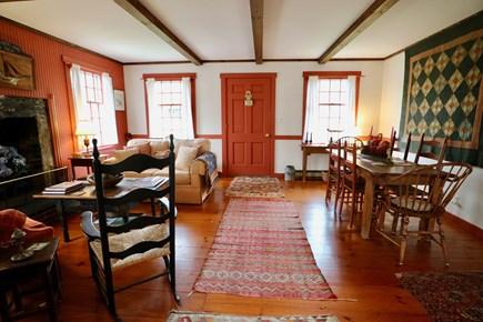 Siasconset Center Nantucket vacation rental - Living-Dining Room