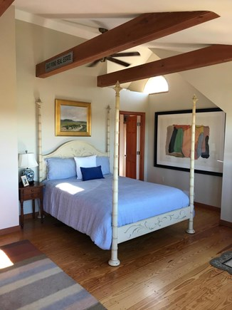 Madaket Nantucket Nantucket vacation rental - Master suite second floor with private bath and deck