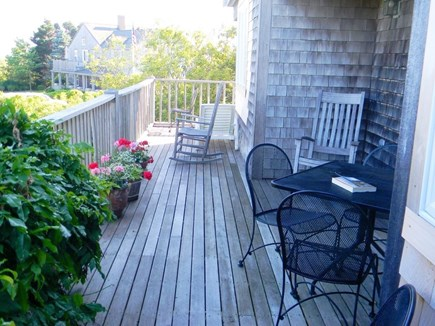 Cisco - Miacomet, Nantucket Nantucket vacation rental - Enjoy the deck for reading, eating or just relaxing