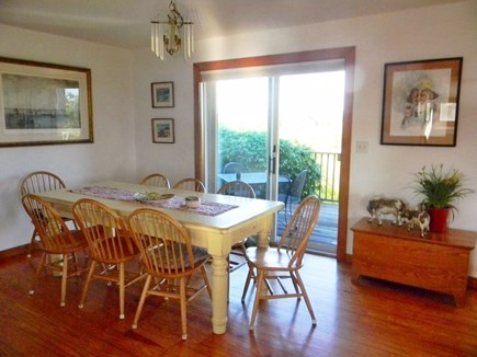 Cisco - Miacomet, Nantucket Nantucket vacation rental - Dining room with great views, seats 8