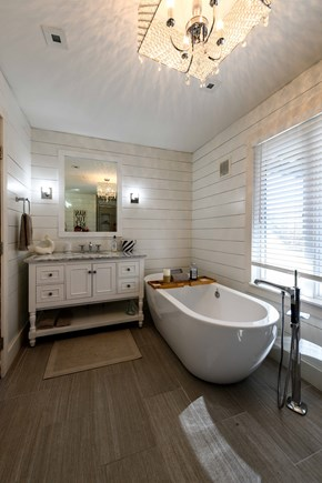 Tom Nevers, Nantucket Nantucket vacation rental - Master Bath with soaking tub and glass shower