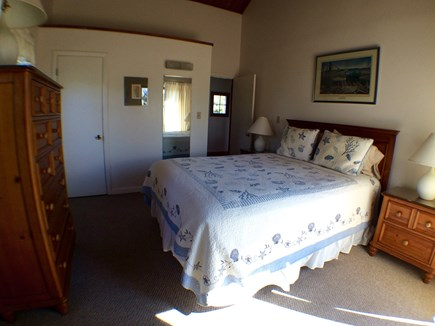 Madaket Nantucket vacation rental - Master bedroom with Queen bed