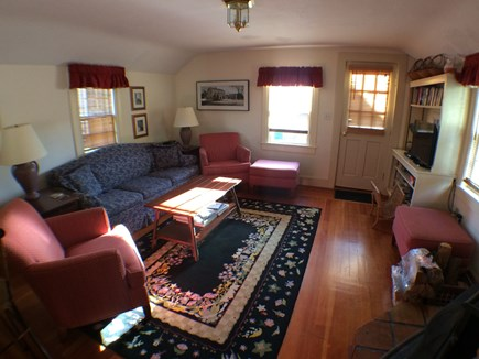 Nantucket town Nantucket vacation rental - Den/Family room with woodstove
