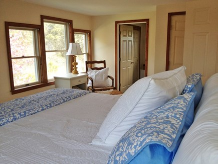 Surfside, Nantucket Nantucket vacation rental - Master Bedroom with King Beautyrest Black