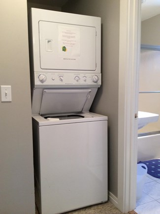 Nantucket town, Nantucket Nantucket vacation rental - Second floor laundry area makes family rentals a breeze!