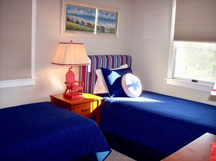 Nantucket Town  Nantucket vacation rental - Sunny Second floor twin bedroom with large closet and dresser
