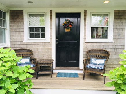 Nantucket Town  Nantucket vacation rental - Front door and porch