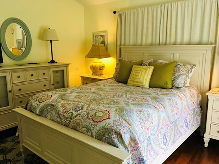 Nantucket Town  Nantucket vacation rental - First floor master suite with queen bed and attached full bath.