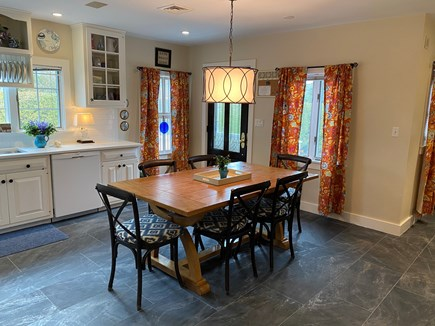 Nantucket Town, Orange Street Nantucket vacation rental - Large enough for family dinner and games